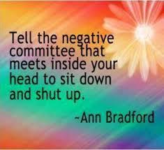tell negative committee to shut up