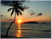 sunset BVI