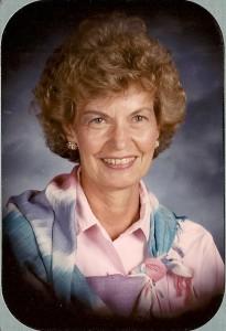Mom in 1985