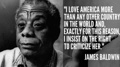 love America James Baldwin