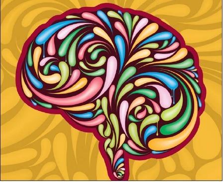 psychoactive brain