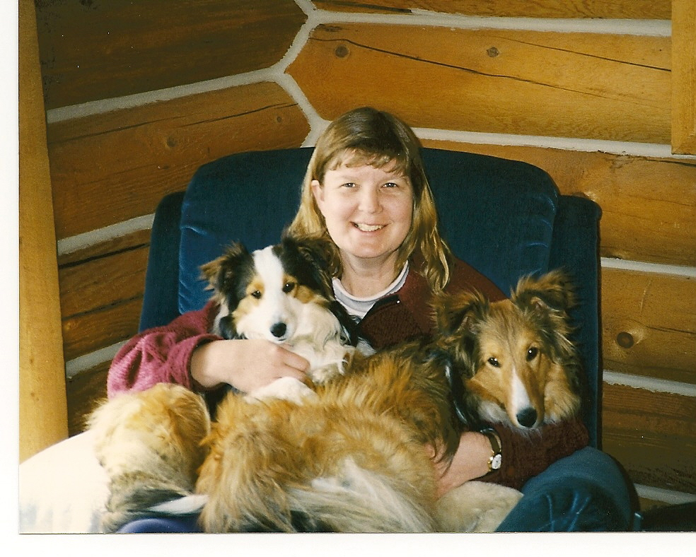 Laura and the dogs 1997