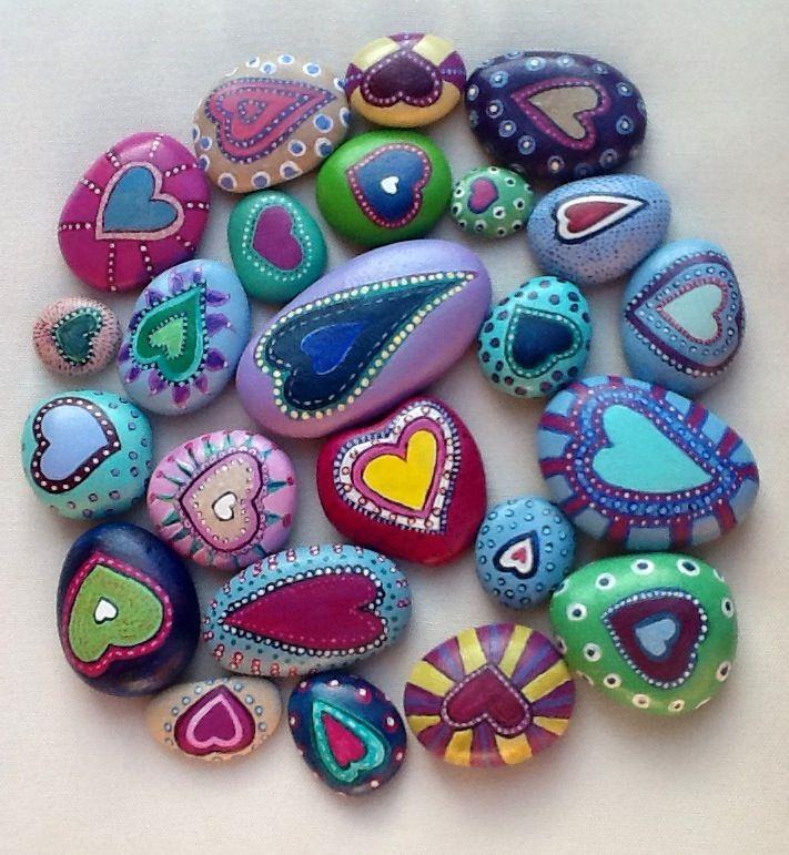 pretty purple rocks