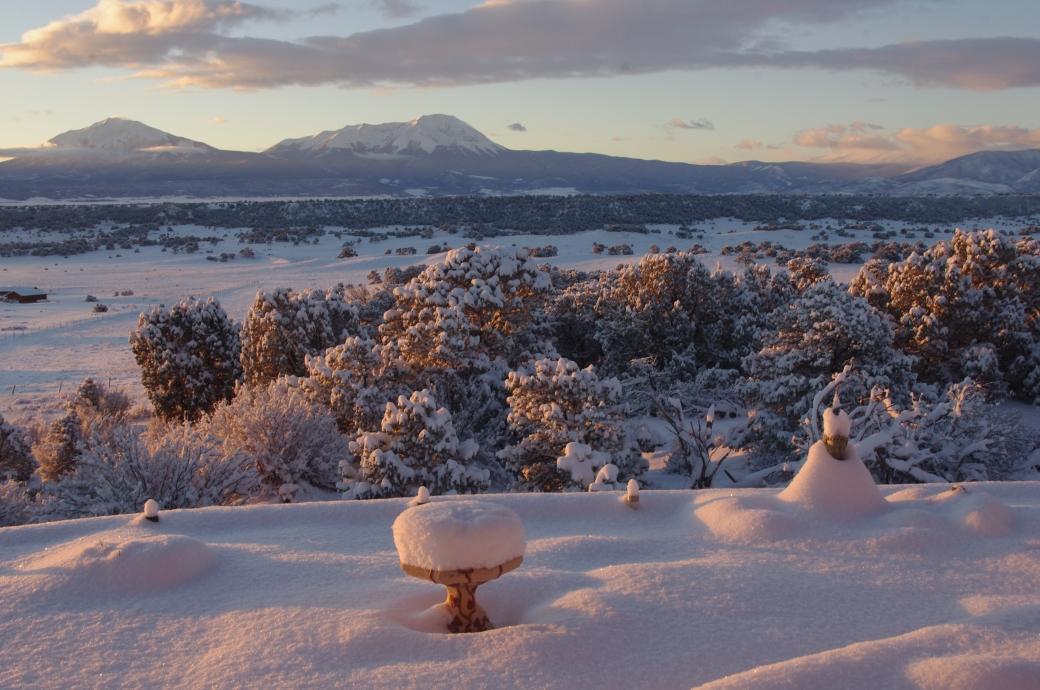 sparkling-snowy-buddha-garden-with-spanish-peaks-behind-1